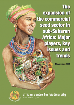 Report from African Centre for Biodiversity uncovers the impact of the commercial seed sector in sub-Saharan Africa